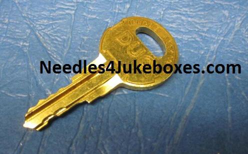 Wallbox Keys for Rowe/AMI, Seeburg S, Wurlitzer WC & WCX Locks