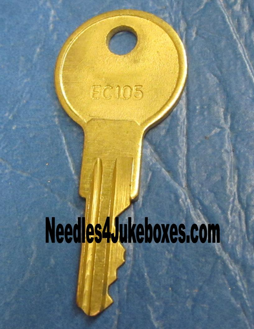 EC105 Cabinet Key $12 - Antique Apparatus
